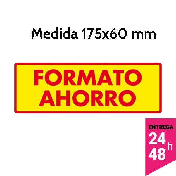 etiqueta formato ahorro 175x60 mm - etiqueting