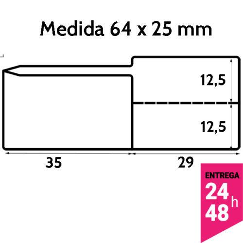 Etiqueta joyeria para anillos y otras joyas 64x25 mm - etiqueting